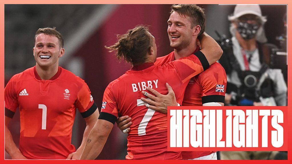 Tokyo Olympics: Great Britain's men complete stunning comeback to reach sevens semis