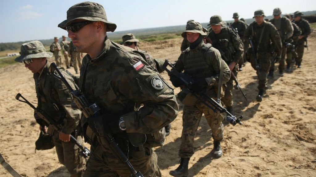 Poland plans paramilitary force of 35,000 to counter Russia - BBC News
