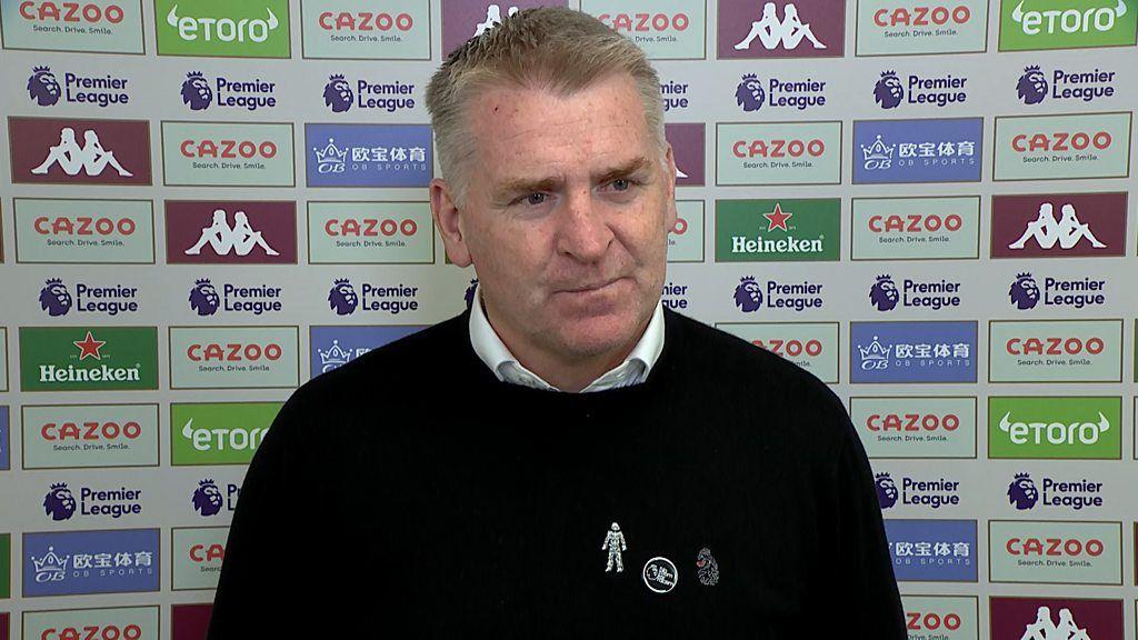 Aston Villa 2-3 Wolves: Dean Smith says late defeat