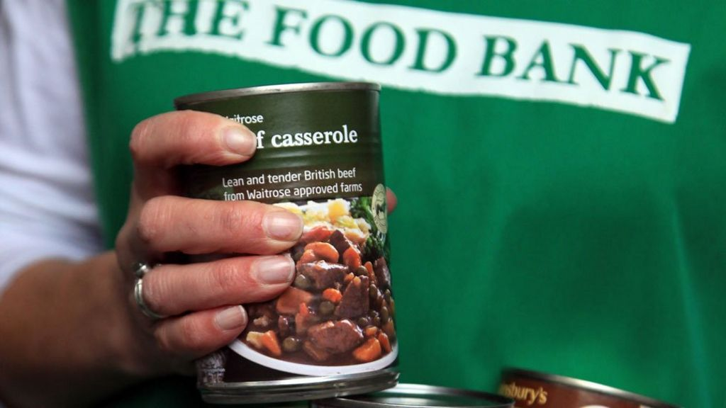 Food Bank Supplies Help Record Numbers Bbc News