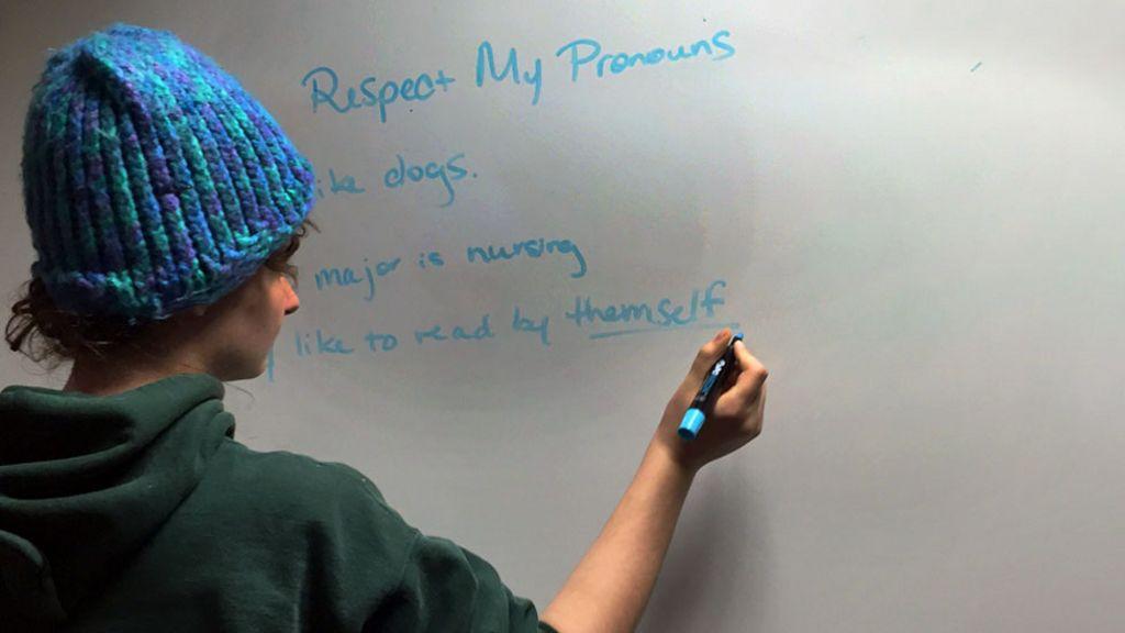 Non binary pronoun options