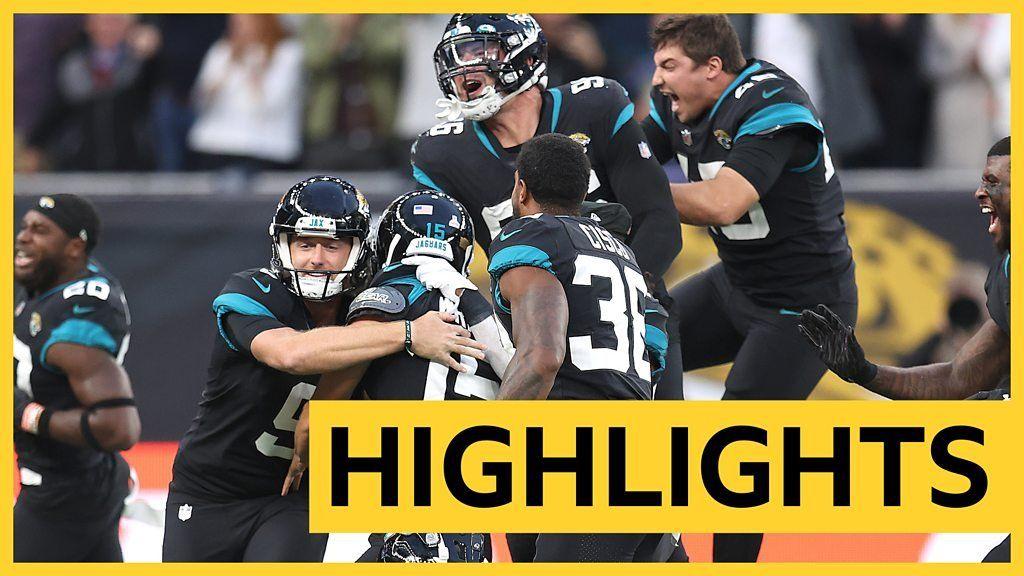 NFL: Jacksonville Jaguars beat Dolphins 23-20 in London thriller - highlights