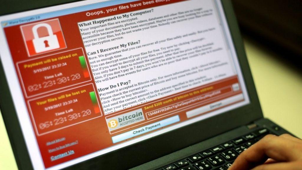 Ransomware tops malicious attack charts - BBC News