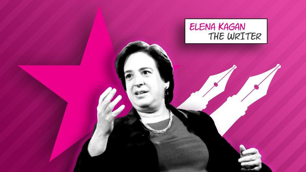 Elena Kagan comic