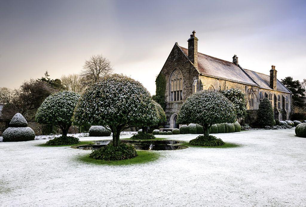 Stavordale Priory in Winter by Jason Ingram