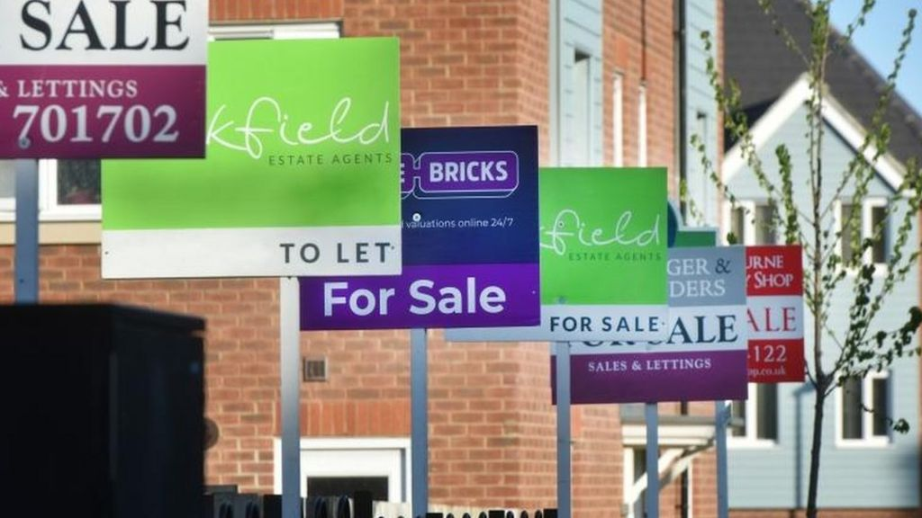 First House Price Fall In England Since 2012 Bbc News