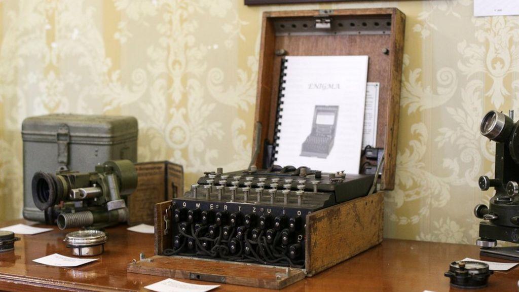 Enigma I 39 100 Typewriter 39 Found To Be German Code