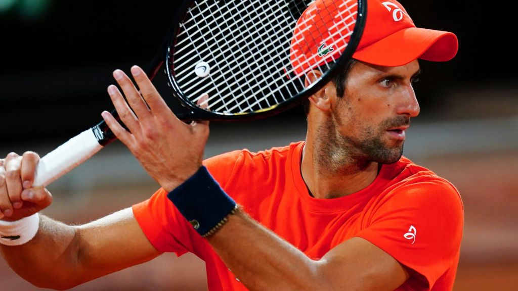 French Open 2020 Novak Djokovic Ready For Paris After Us Open Disqualification Bbc Sport