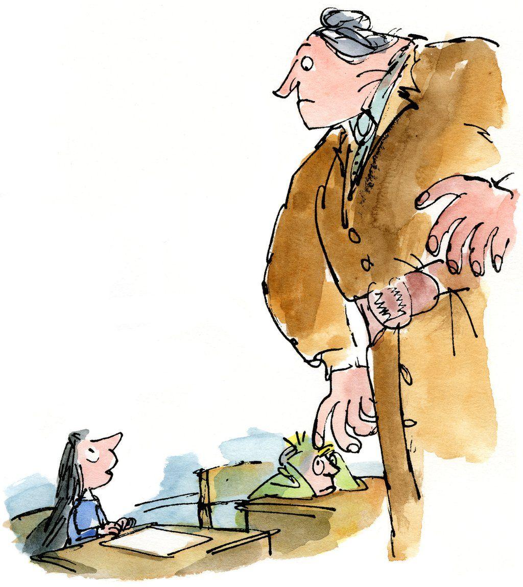 Matilda and Mrs Trunchbull