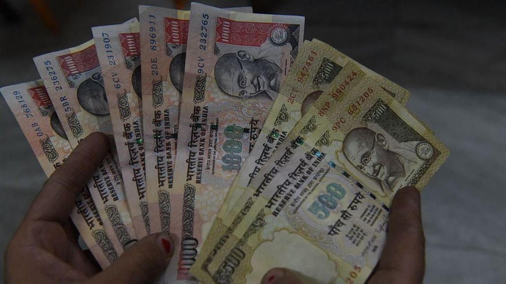 Why India wiped out 86% of its cash overnight - BBC News