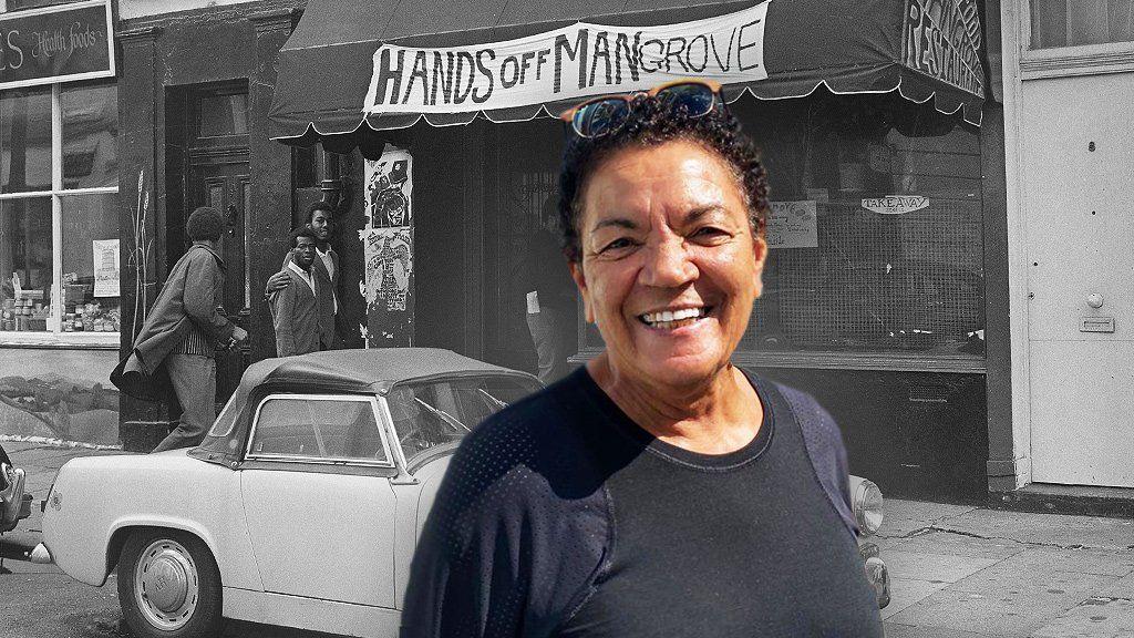 Mangrove restaurant and Barbara Beese