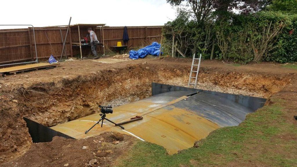 Man Builds Underground Bunker In Garden BBC News