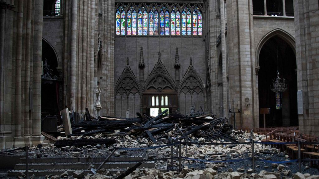 Notre-Dame fire: Macron says new cathedral will be 'more