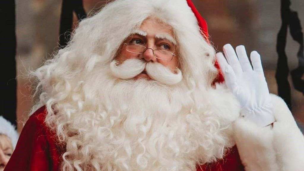 Father Christmas 2020 Christmas 2020: Will Santa have to social distance?   BBC News