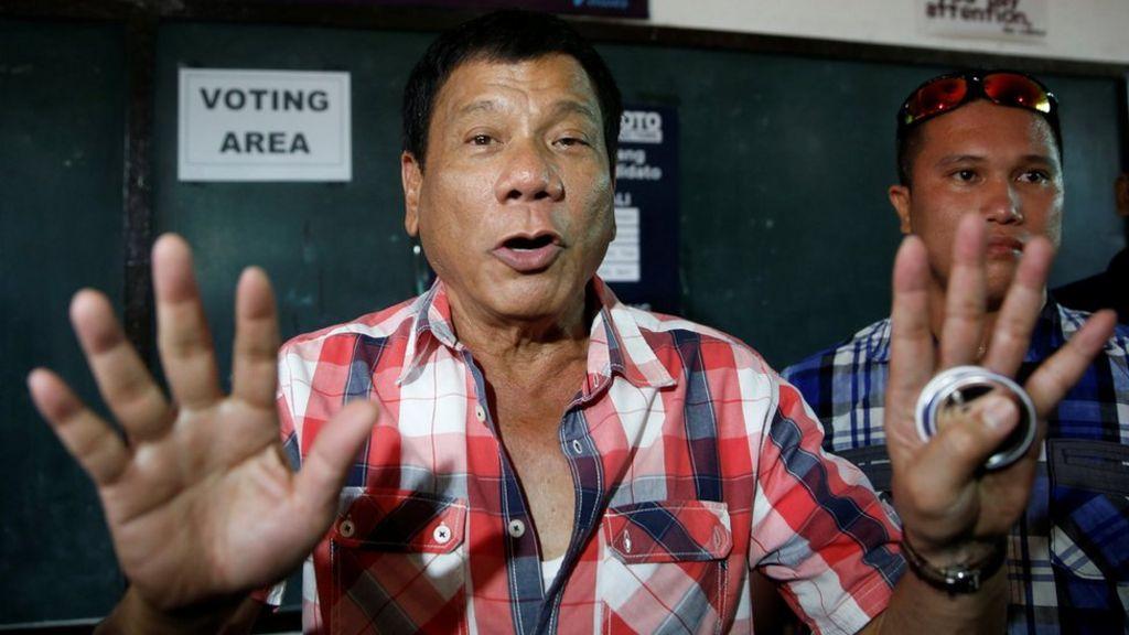 Philippines President Rodrigo Duterte in quotes - BBC News