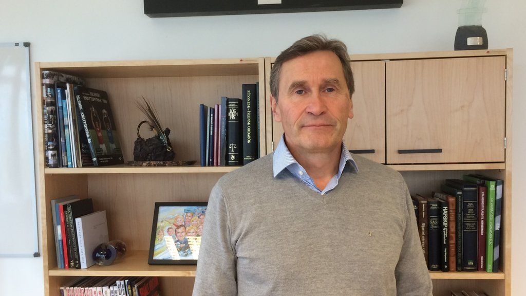 Grimur Saemondsen Blue Lagoon CEO