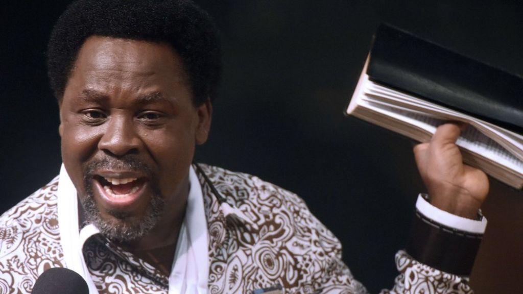 Nigerian preacher TB Joshua deletes prophecy of Clinton win - BBC News