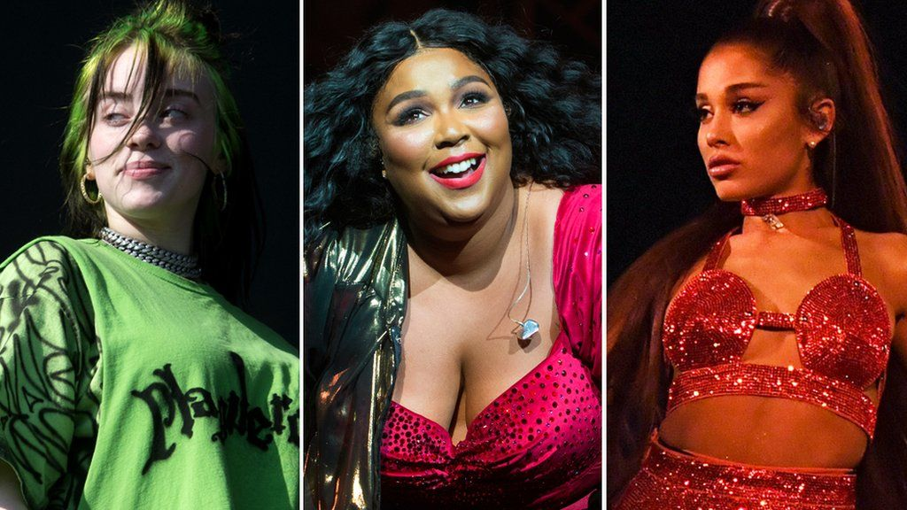 Billie Eilish, Lizzo and Ariana Grande all have multiple nominations