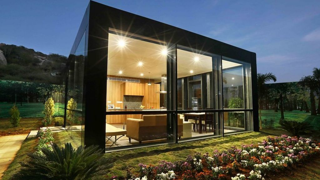 Creating low cost luxury modular homes bbc news - Average price of a modular home ...