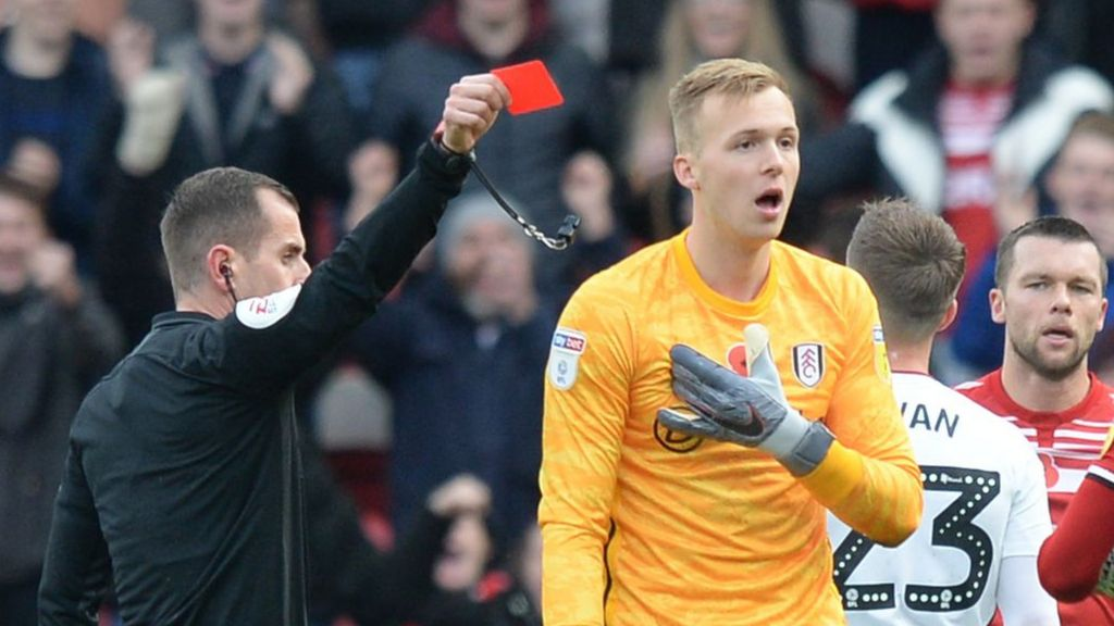 Middlesbrough 0-0 Fulham: Boro held despite Marek Rodak red card - BBC Sport