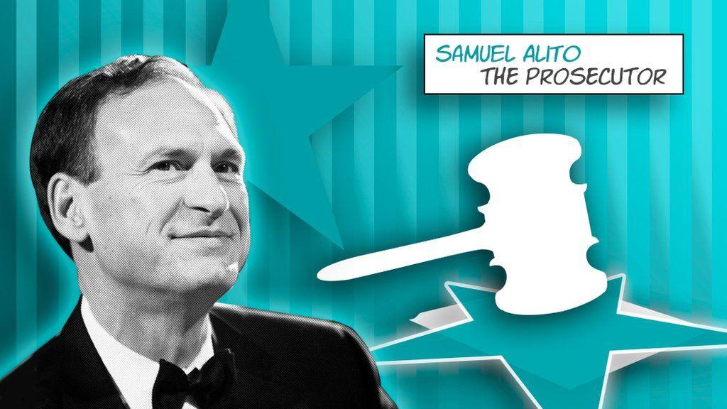 Samuel Alito comic