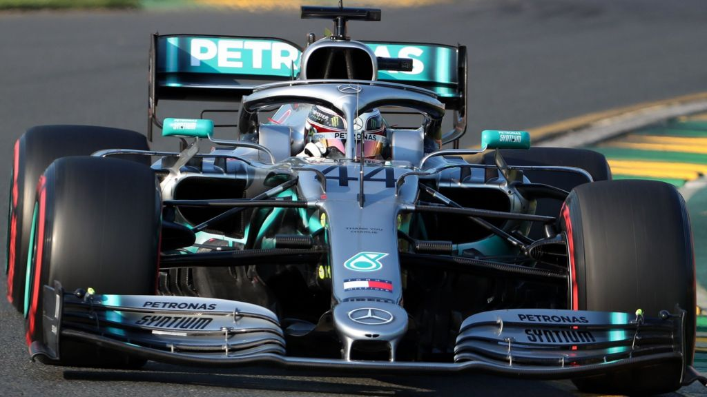 bbc.co.uk - Andrew Benson - Lewis Hamilton on pole in Australia