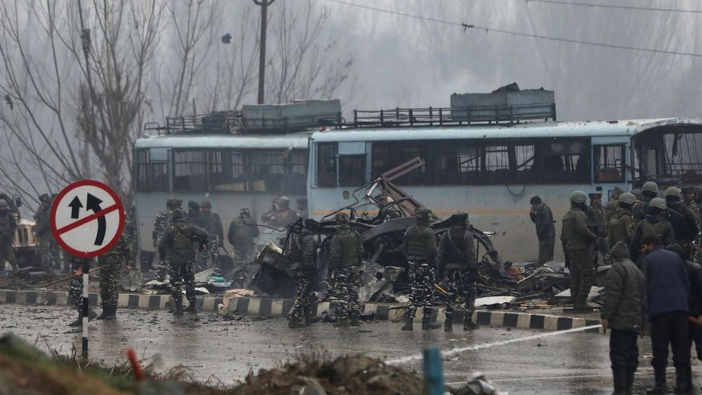 Kashmir attack: Tracing the path that led to Pulwama - BBC News