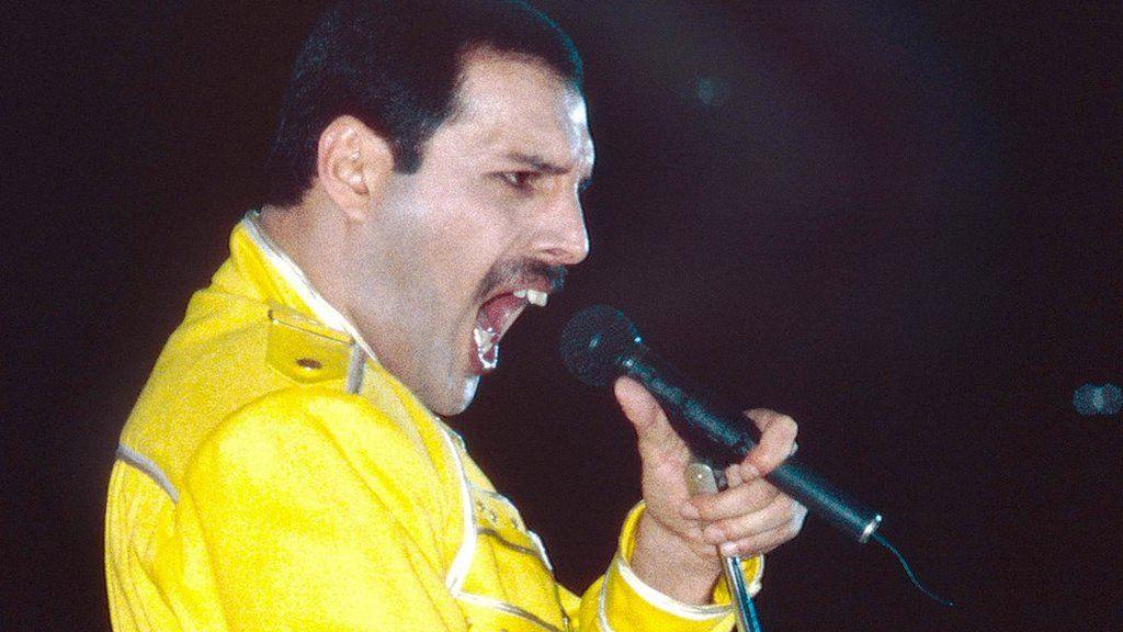 Freddie Mercury in 1986