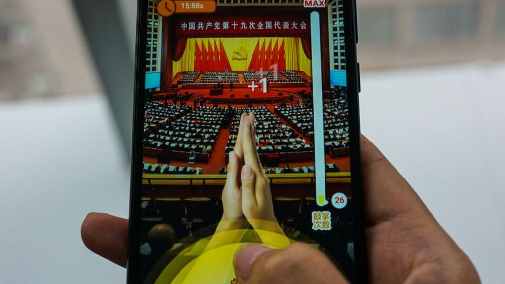 Players 'applaud' Xi Jinping in Tencent game
