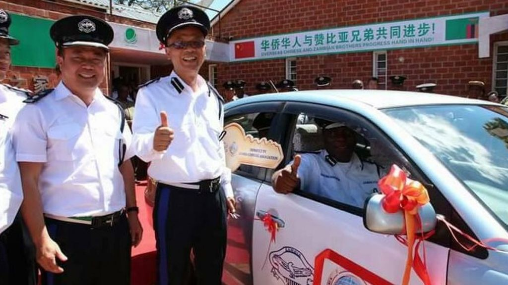 Zambia's new Chinese police officers removed after outcry