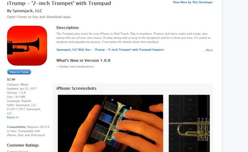 App iTrump wins trademark fight against Trump Organization