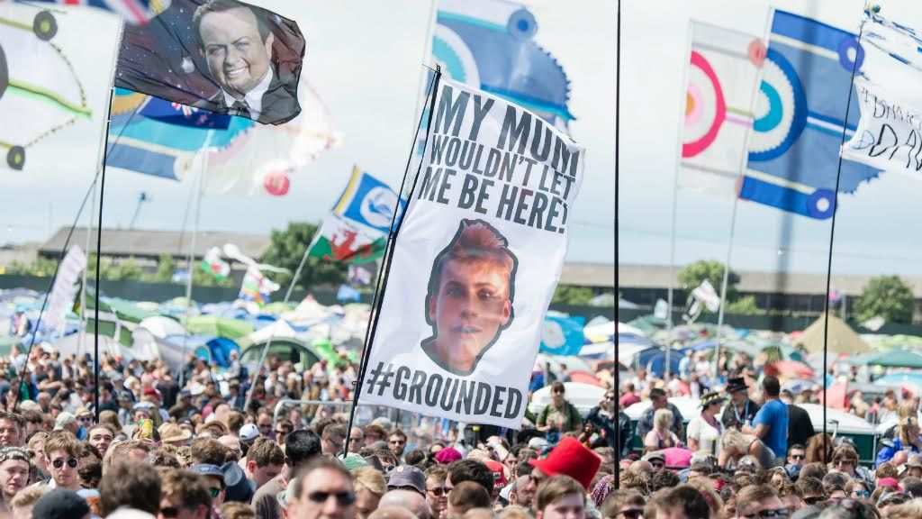 The grounded flag