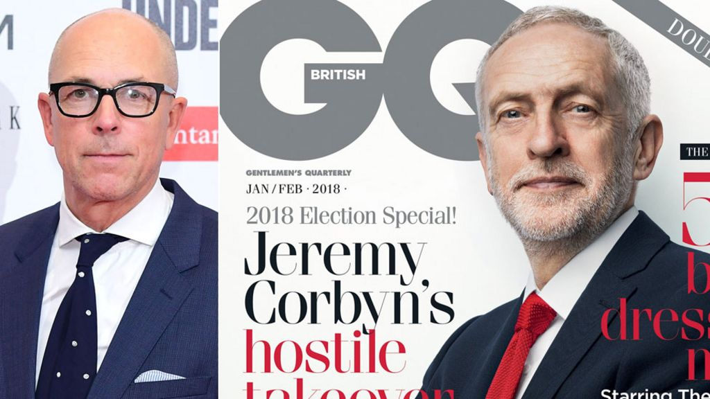 GQ editor criticises cover star Jeremy Corbyn