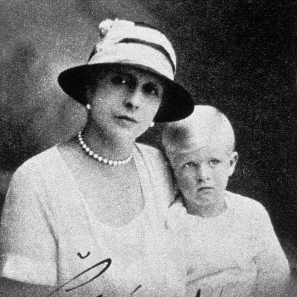 Princess Alice with Prince Philip, 1924