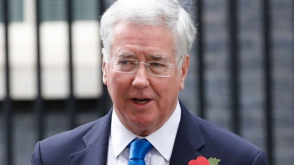 Sir Michael Fallon resigns over past behaviour claims