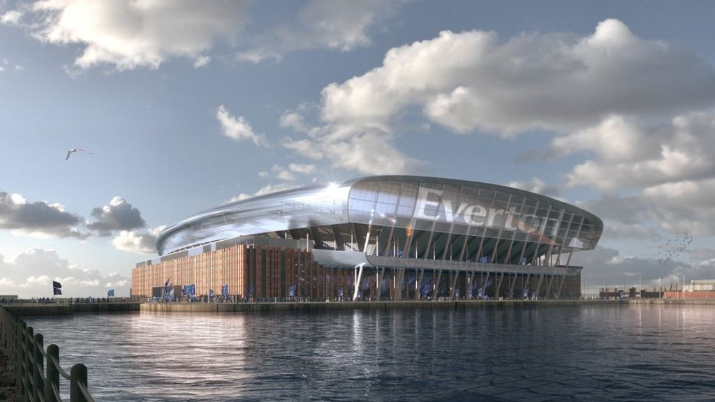 New Everton Stadium To Rise From Bramley Moore Dock Bbc News