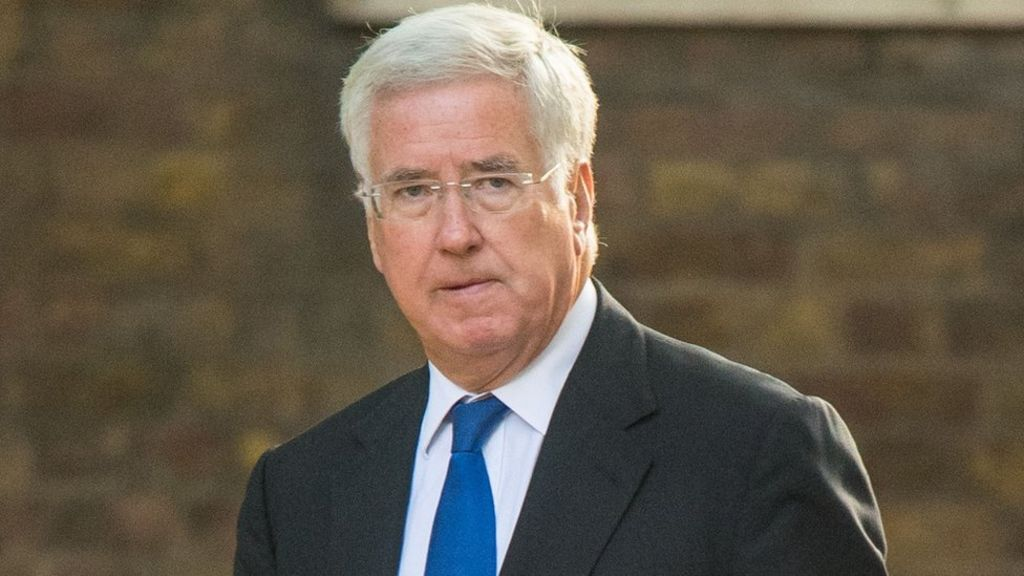 Michael Fallon 'apologised for touching journalist's knee'