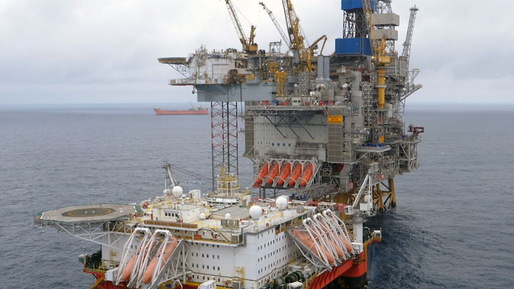 Oil starts flowing from huge North Sea development - BBC News