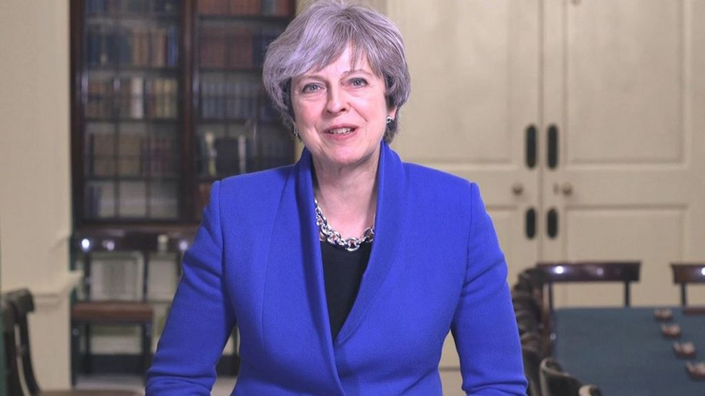 Britons will feel pride in 2018, says Theresa May