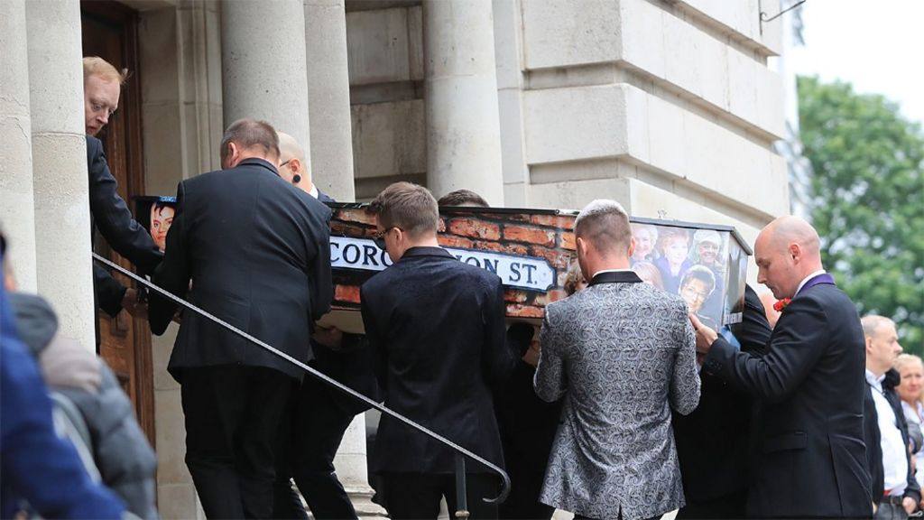Manchester attack: Martyn Hett's funeral takes place