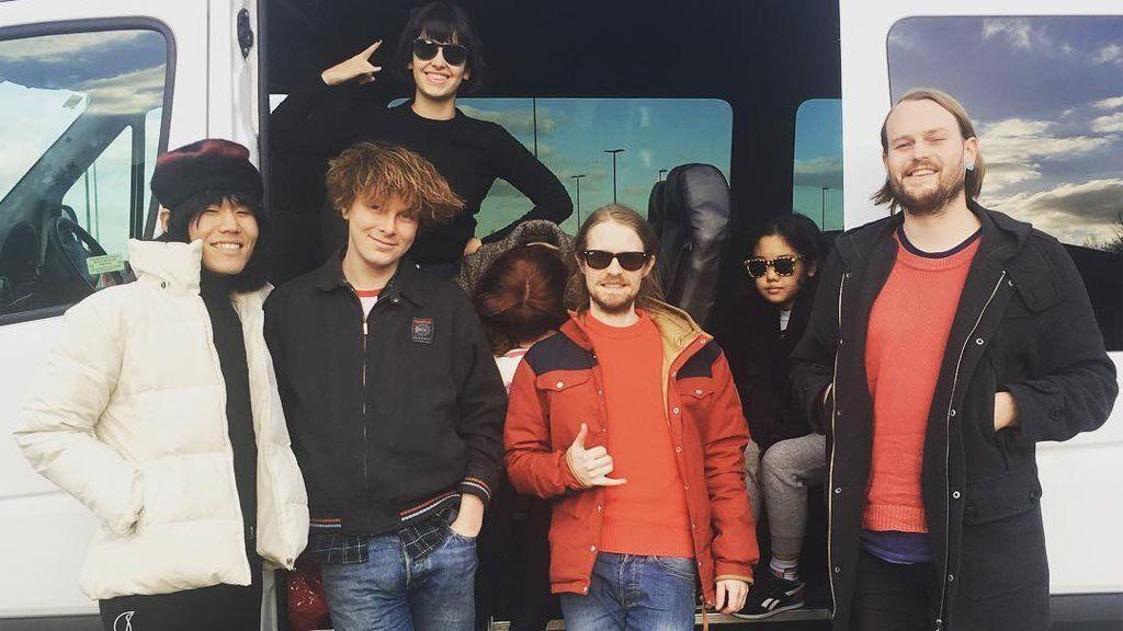 Superorganism on tour