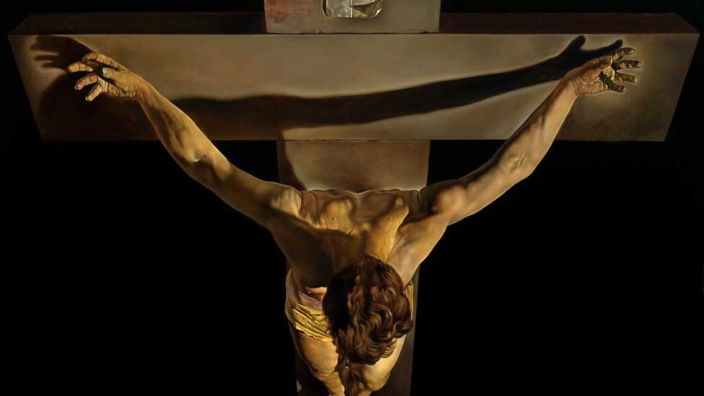 Salvador Dali painting returns to Kelvingrove - BBC News