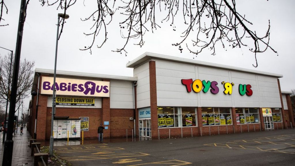 Outside Of Toys R Us