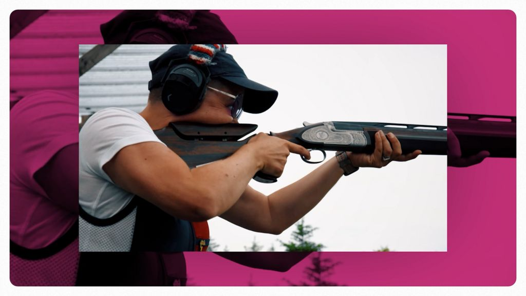 'It's golf with guns' - Kirsty Hegarty's journey from NI to Tokyo