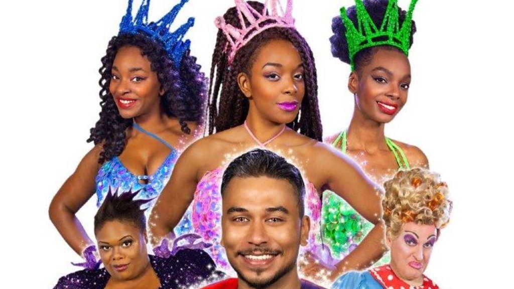 Too black' panto rant stirs Sleeping Beauty producer - BBC News