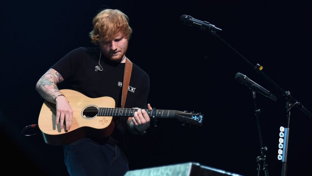 Ed Sheeran breaks arm in cycling accident
