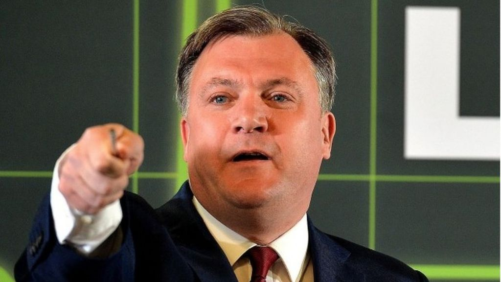 Ed Balls: Treasury has 'washed its hands' of duty