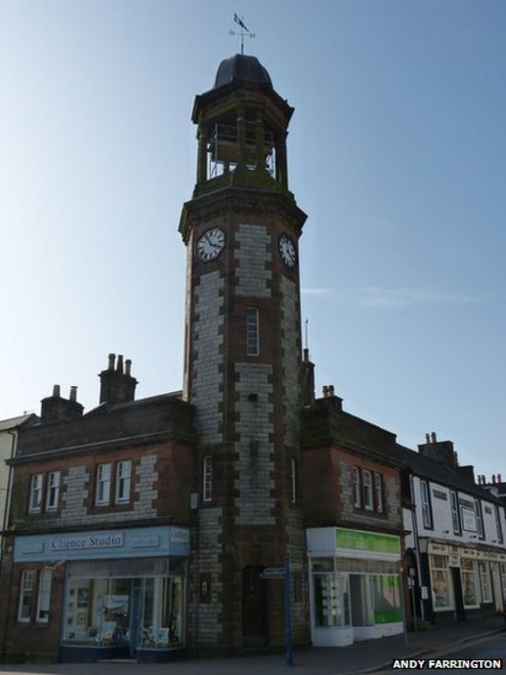 Castle Douglas Clock Tower Could Return To Use BBC News