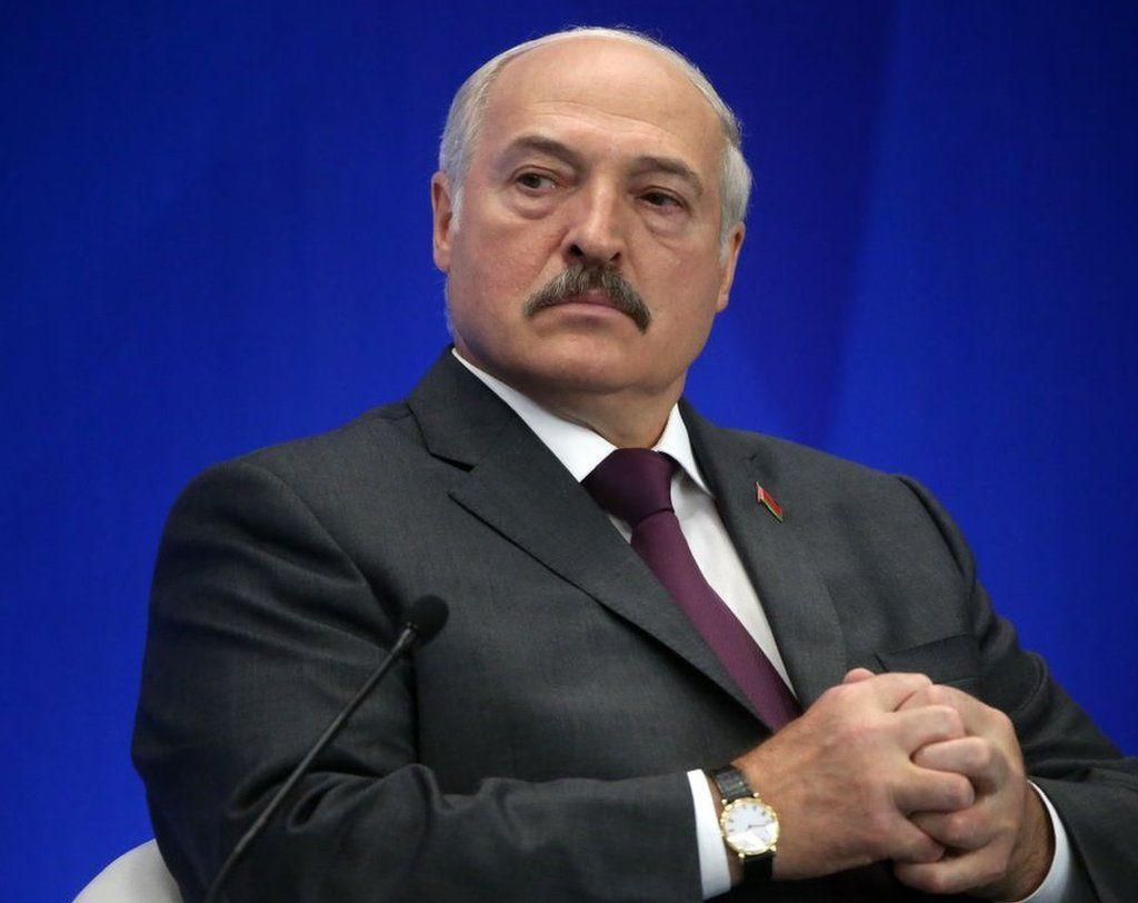 Le président de la Biélorussie, Alexandre Loukachenko, participe à un forum