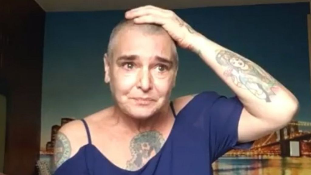 Sinead O'Connor says she's 'suicidal' in Facebook video - BBC News